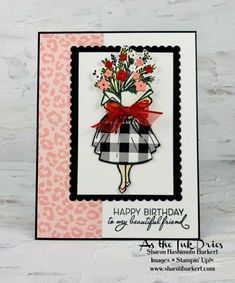 Friends Are Like, Shaker Cards, Dress Card, Stampin Up Christmas, Christmas Cards, Tiny Flowers, Christmas Catalogs, Stamping Up Cards, Scrapbook Supplies