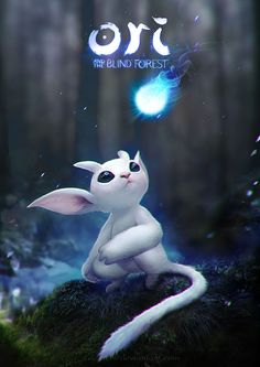 Ori and the Blind Forest, Elisavet Theodosiou on ArtStation at https://www.artstation.com/artwork/LgVPw