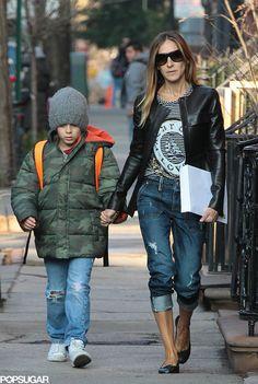Sarah Jessica Parker Walking Her Kids to School | Pictures | POPSUGAR Celebrity Photo 10
