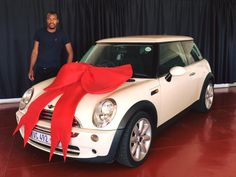Mr PN Maduna taking ownership of his Mini Cooper! 🚗 #WeGetYouMoving #AnotherSuccessfulDelivery ‪#SatisfiedClients #FinanceAvailable #ThroughAllMajorBanks‬‬‬‬‬‬ ‪#TheMotorManWay ‬‬‬‬‬‬#TheMotormanEffect #motorman #cars #nigel  For the best deals call us now at:  011 814 1729 Whatsapp us now at: 083 440 9121 Or Email us on Leads@motorman.co.za We only post pictures with permission of the client #permissiongranted  ... Proudly brought to you by MotorMan! 🚗