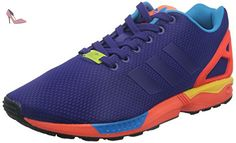 Adidas ZX Flux (Collegiate Purple / Solar Red) (US 7.5 / EU 40 2/3) - Chaussures adidas (*Partner-Link)