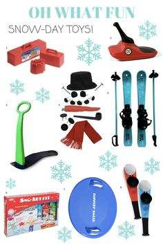 The best snow toys f