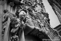 Detalhe da Igreja de Nossa Senhora do Carmo – São João del Rei | Tiradentes e São João Del Rei em 50mm | Nerds Viajantes