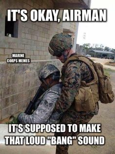 marines and airforce funny - Google Search