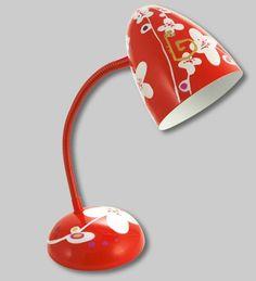 PYLONES - Desk lamp GLOBE TROTTER white flower