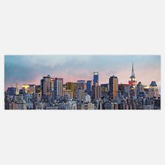 New York Skyline Mural 4'2x12, $65, now featured on Fab.