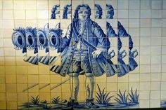 Campo Grande Subway Station in Lisbon: azulejos, portuguese tiles.