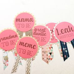 Www.afalasca.etsy.com Custom Baby Shower Pins Mommy To Be Pin Mommy To Be  Corsage Daddy To Be Baby Shower Gift | Baby/Kid Stuff | Pinterest | Baby  Shower ...