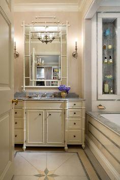 "John B. Murray Architect: Apartments - ""her"" master bath"