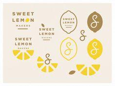 Sweet Lemon - branding exploration by Brenton C. Little # Food and Drink logo branding Sweet Lemon - branding exploration Café Branding, Bakery Branding, Bakery Logo Design, Corporate Branding, Marketing Branding, Branding Ideas, Business Branding, Personal Branding, Juice Branding
