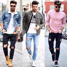 Sublime Urban Fashion Streetwear Outfit Ideas 10 Positive Cool Tips: Urban Fashion Trends Menswear urban fashion grunge crop tops.Urban Fashion S Streetwear Mode, Streetwear Fashion, Mens Style Guide, Men Style Tips, Vetements Shoes, Modern Mens Fashion, Fashion 101, Style Fashion, Urban Fashion Girls