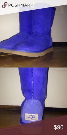 Classic ll Ugg Only been worn once, in decent condition UGG Shoes Ankle Boots & Booties