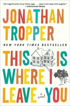 This Is Where I Leave You is Jonathan Tropper's most accomplished work to date, and a riotously funny, emotionally raw novel about love, marriage, divorce, family, and the ties that bind-whether we like it or not.
