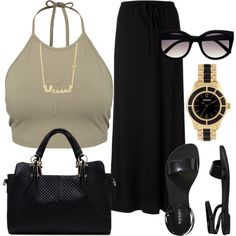Designer Clothes, Shoes & Bags for Women Swag Outfits, Casual Outfits, Cute Outfits, Fashion Outfits, Fashion Trends, Dope Fashion, Womens Fashion, Inspiration Mode, Polyvore Outfits