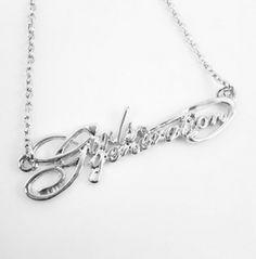 KPOP Girl's Generation SNSD titanium steel necklace Kpop Earrings, Shinee, Kdrama, Girls Generation, Snsd, Kpop Girls, Korean Dramas