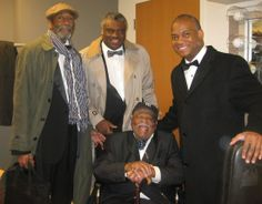 Happy Birthday Mr. Clark Terry  14th of December 1920     Happy 93rd Birthday to master trumpeter Clark Terry. Thank you for everything.  With Ron Carter and Mulgrew Miller in Saint Louis, MO   April 2009