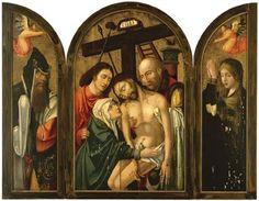 The Descent from the Cross, Saint Joseph of Arimathea, Saint Mary Magdalene (triptych) by Rogier van der Weyden