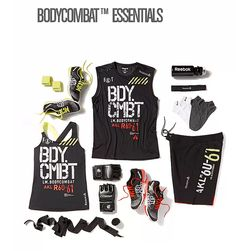 #BODYCOMBAT essentials from #reebok. #lookgoodfeelgood