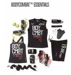 #BODYCOMBAT essentials from #reebok. #lookgoodfeelgood