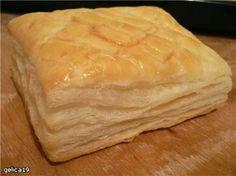 Французское слоеное без дрожжевое тесто: базовый рецепт : Рецепты теста
