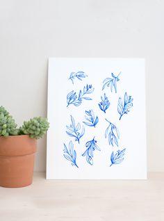 June Letters | Eucalyptus Art Print