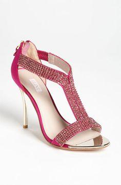 rhinestone studded sandal