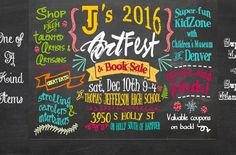 TJ's 2016 Art Fest & Book Sale!!