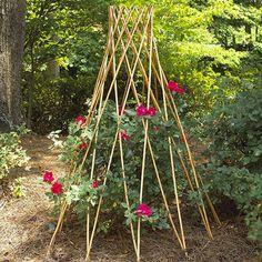 Garden Path Willow Flower Support