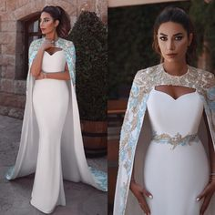 Utilize These Tips To Assure A Fantastic Experience Fairy Wedding Dress, African Wedding Dress, Sexy Wedding Dresses, Wedding Dress Cape, Bridesmaid Dresses, Cape Dress, Elegant Dresses For Women, Beautiful Dresses, Prom Dresses Two Piece