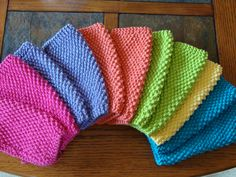 Ravelry: Alainas Simple Seed Stitch Dishcloth pattern by Alaina Privette