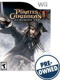 Pirates of the Caribbean: At World's End - PRE-Owned - Nintendo Wii, Multi