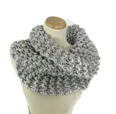 Sale Outlander Inspired Bulky Cowl Hand Knit by ArlenesBoutique
