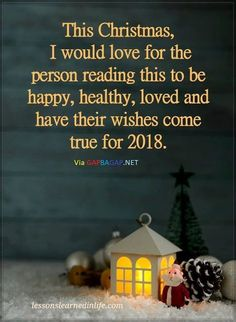 Good wishes for 2018