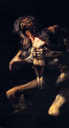 Francisco Goya - Saturn