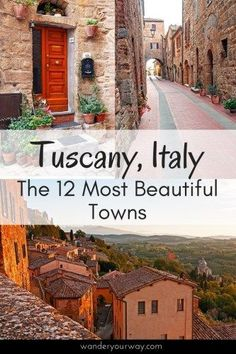 There are loads of beautiful towns in Tuscany. Well here's my list of what I think are the 12 of the most beautiful towns in Tuscany. The Places Youll Go, Cool Places To Visit, Places To Travel, Places To Go, Travel Destinations, Holiday Destinations, Tuscany Italy, Italy Italy, Sorrento Italy