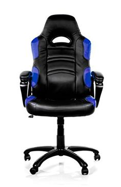 Arozzi Enzo Series Gaming Racing Style Swivel Chair, Black/Blue The Arozzi Enzo is one cool gaming chair, which has a racing inspired look. Teal Dining Chairs, Outdoor Dining Chair Cushions, Accent Chairs, Desk Chairs, Outdoor Lounge, Black Office Chair, Home Office Chairs, Pc Gaming Chair, Gaming Furniture
