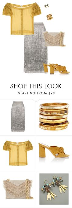 """Sparkly"" by toots2271 ❤ liked on Polyvore featuring Rachel Zoe, Ashley Pittman, Isa Arfen, Loeffler Randall and Cynthia Rowley"