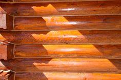 Log Home Finishing - chinking, staining, media blasting by Log home Finishing, via Behance Soda Blasting, Log Homes, It Is Finished, Behance, Timber Homes, Wood Homes, Log Home, Wood Houses, Log Houses