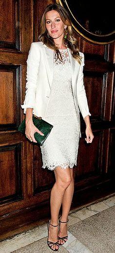 <3 Gisele Bundchen   White Trend   Celeb Style