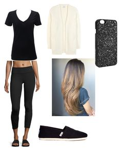"""""""Plane Ride"""" by dancer0202 on Polyvore featuring Vimmia, Simplex Apparel, Acne Studios, TOMS and Victoria's Secret"""
