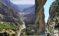 Το Φαράγγι της Σαμαριάς - Crete's Samaria Gorge Grand Canyon, Nature, Travel, Naturaleza, Viajes, Destinations, Grand Canyon National Park, Traveling, Trips