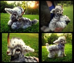SOLD Hand Made Poseable Weighted Baby Unicorn! by Wood-Splitter-Lee on deviantART