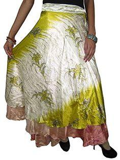 Wrapskirts Vintage Silk Sari Reversible White Green Wrap Around Skirt for Womens Mogul Interior http://www.amazon.com/dp/B00P290R70/ref=cm_sw_r_pi_dp_quavub0Z6Q070