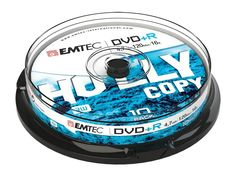 Emtec - DVD+R 4.7GB 16X Slim Box (10 Pack) Dvd Blu Ray, Box Cake, Computer Accessories, Packing, Slim, Products, Discus, Virgos, Home