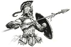 ancient germanic warrior tattoos - Google Search