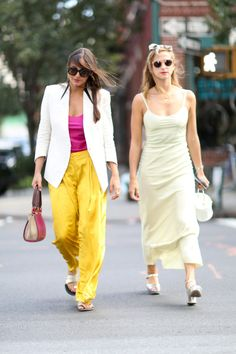 The Street-Style Guide to Wearing Yellow   StyleCaster