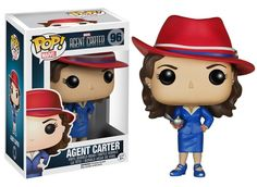 Funko POP Marvel - Peggy Carter is a hero in her own right and now a fabulous Pop! Check out a new figure from Funko with the Marvel Agent Carter Pop! ▸ Pre-order here: eearth. Figurines D'action, Figurines Funko Pop, Funko Figures, Pop Figurine, Funko Pop Marvel, Marvel Pop Vinyl, Lego Marvel, Deck Box, Pop Vinyl Figures