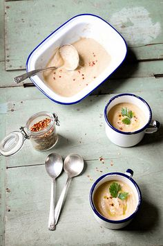 Roast Parsley Root and Lady Apple Soup by ashafsk, via Flickr.