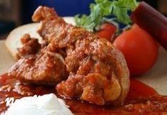 Goulash, Naan, Gnocchi, Stew, Chicken, Dinner, Food, Drink, Red Peppers