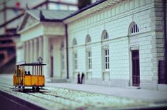 park miniatur - Warsaw,Poland. Old Warsaw, before the second war.
